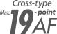 19-punkters AF-system