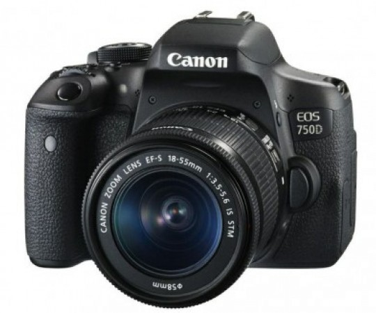 Canon EOS 750D m/18-55mm IS STM