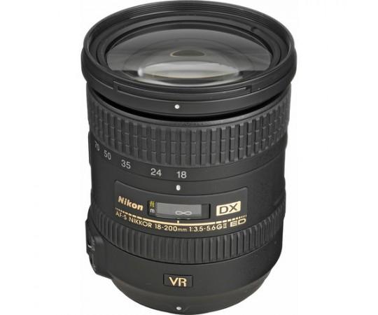 Nikon AF-S Nikkor 18-200 1:3,5G ED