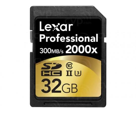 Lexar Professional 32GB 2000X 300MB/s