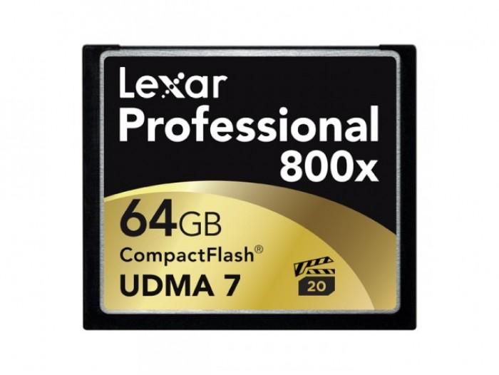 Lexar Professional 800X 64 GB 120 MB/s