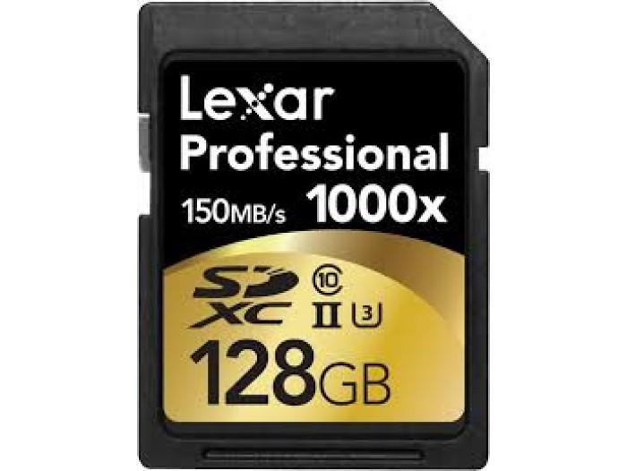 Lexar Professional 128GB 1000X 150MB/s