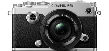 Olympus PEN-F Kit Pancake zoom AF 14-42 f/3,5-5,6 EZ ED + 25mm f/1,8