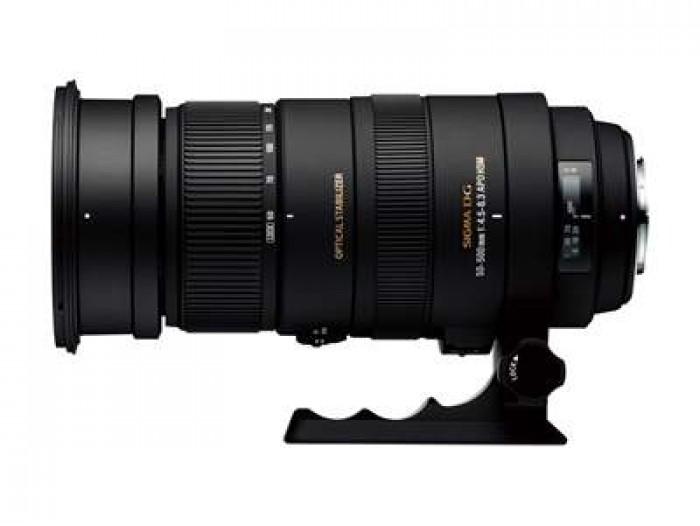 DG 50-500mm F4.5-6.3 APO OS HSM