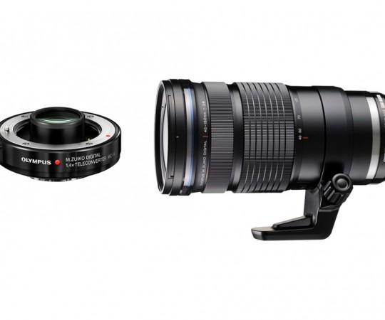 ED 40-150mm F2.8 PRO m/ MC 14 Telekonverter 1.4X
