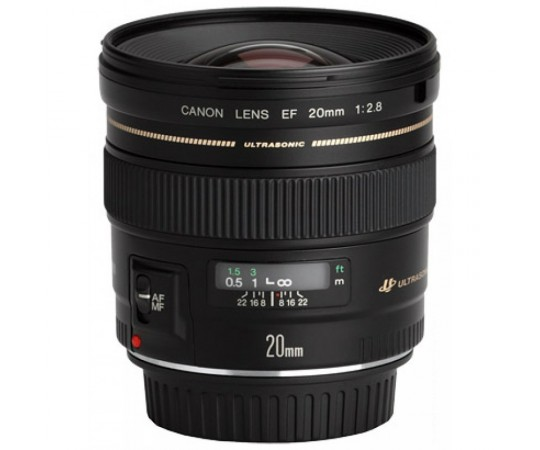 EF 20mm F2.8 USM