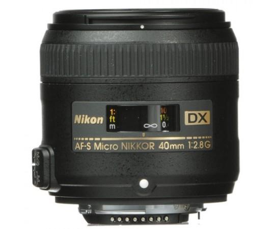 AF-S Nikkor DX 40 F2.8G