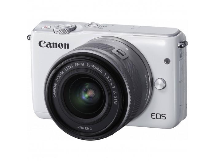 Canon EOS M10 m/ 15-45 STM White