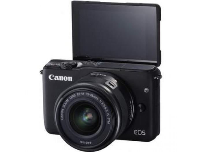 Canon EOS M10 m/ 15-45 STM White Juletilbod (1)