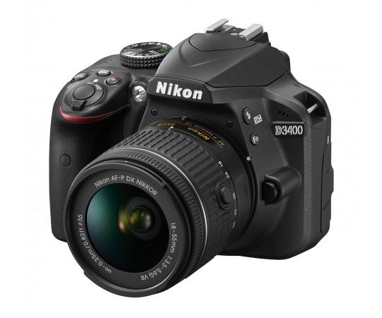 Nikon D3400 kit AF-P DX 18-55 F.3,5 - 5,6G VR