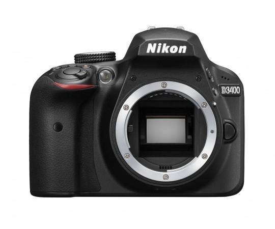 Nikon D3400 hus svart