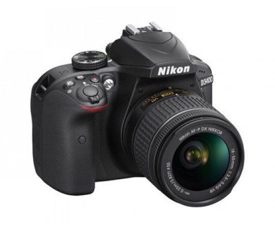 Nikon D3400 svart kit AF-S DX 18-105 F.3,5 - 5,6G ED VR