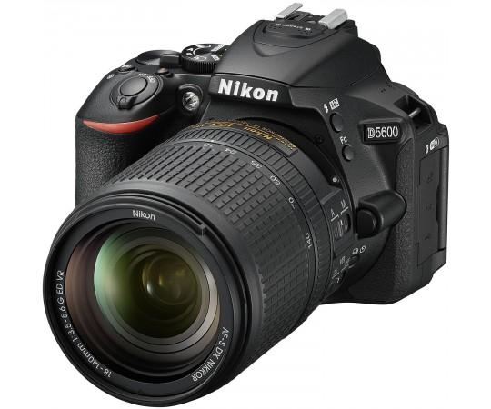 Nikon D5600 hus svart kit AF-S DX 18-140mm  F. 3,5-5,6G ED VR