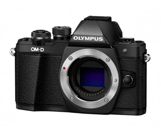 Olympus OM-D E-M10 Mark II Hus svart.