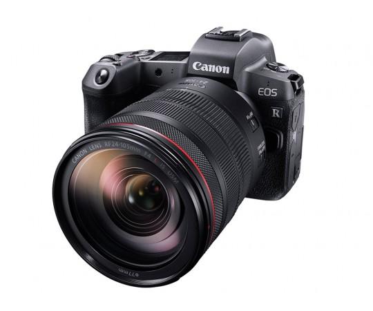 Canon EOS R hus + adapter EF-EOS R