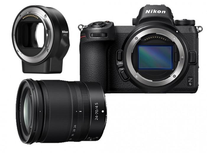 Nikon Z6 hus + FTZ adapter (1)