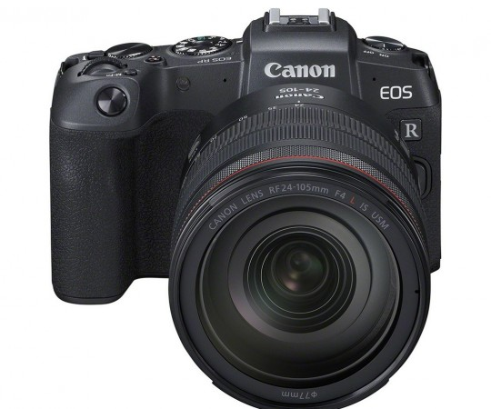 Canon EOS RP + RF 24-105mm F.4L IS USM+ Mount Adapter EF-EOS R