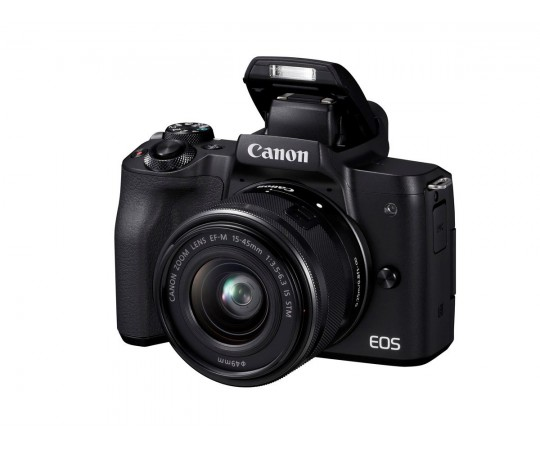 Canon EOS M50 m/EF-M 15-45mm