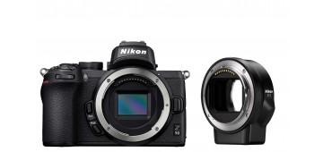Nikon Z50 hus + FTZ adapter