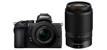 Nikon Z50 + Z DX 16-50mm f/3,5-6,3 + Z DX 50-250mm f/4,5-6,3 VR