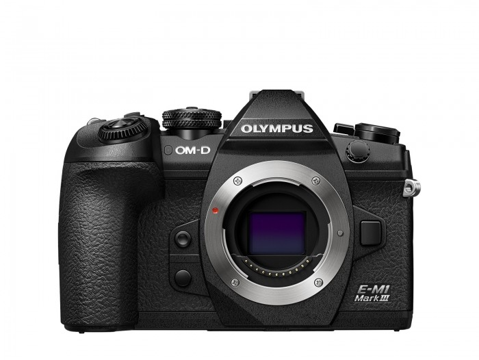 Olympus OM-D E-M1 Mark III  Hus svart