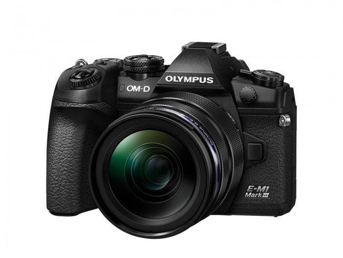 Olympus OM-D E-M 1 Mark III svart kit ED 12-40 F. 2,8 PRO