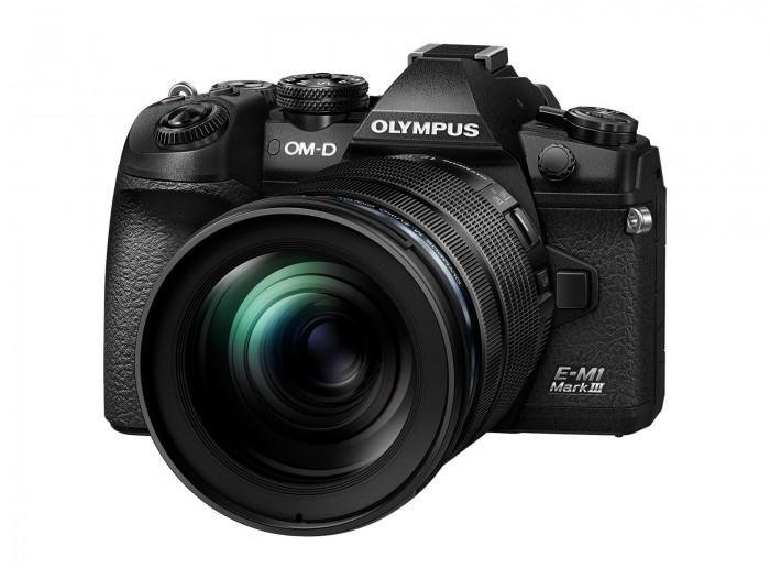 Olympus OM-D E-M 1 Mark III svart kit ED 12-100 F. 4 PRO