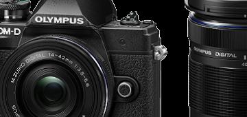 Olympus OM-D E-M10 MarkIII + ED 14-42/3,5-5,6 EZ + ED 40-150/4,0-5,6R