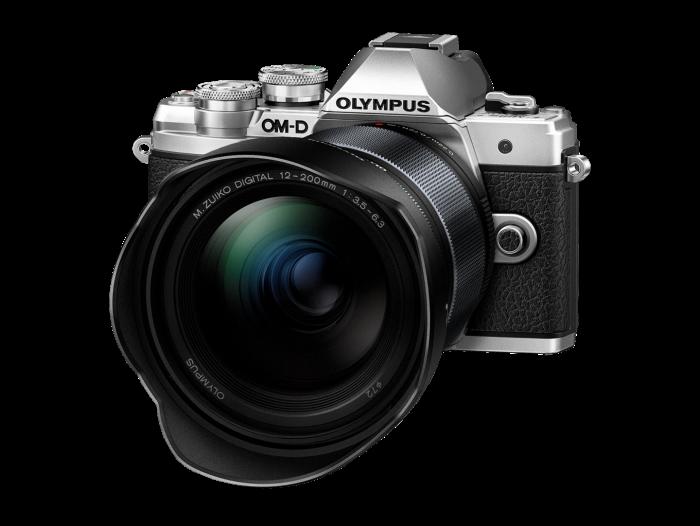 Olympus OM-D E-M10 Mark III Kit med ED 12-200/3,5-6,3