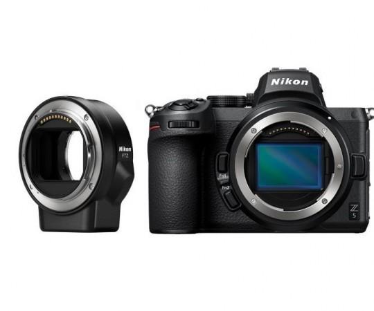Nikon Z5 hus + FTZ adapter