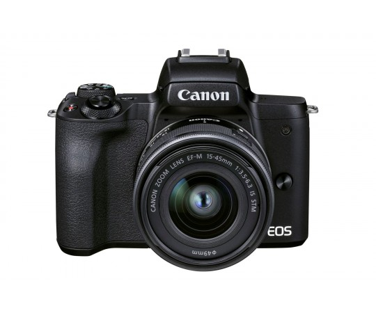 Canon EOS M50 Mark ll + EF-M 15-45/3,5-6,3 IS STM