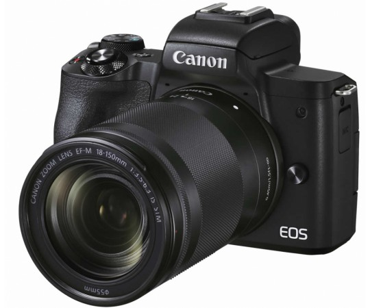 Canon EOS M50 Mark ll + EF-M 18-150/3,5-6,3 IS STM