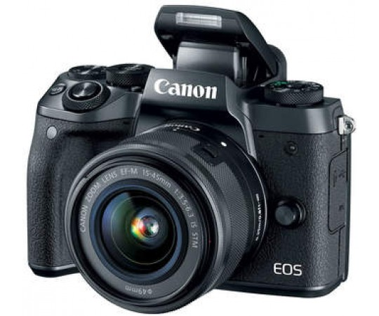 Canon EOS M5 Hus inkl adapter for EF objektiv