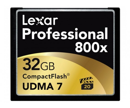 Lexar Professional 800X 32 GB 120 MB/s