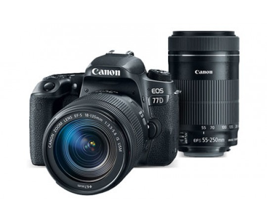 Canon EOS 77D Kit EF-S 18-135 IS STM