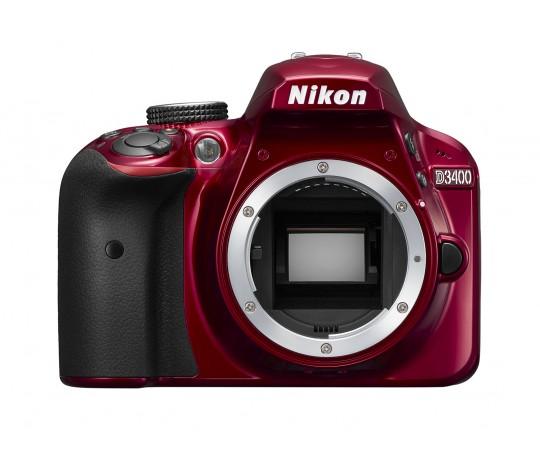 Nikon D3400 hus rød